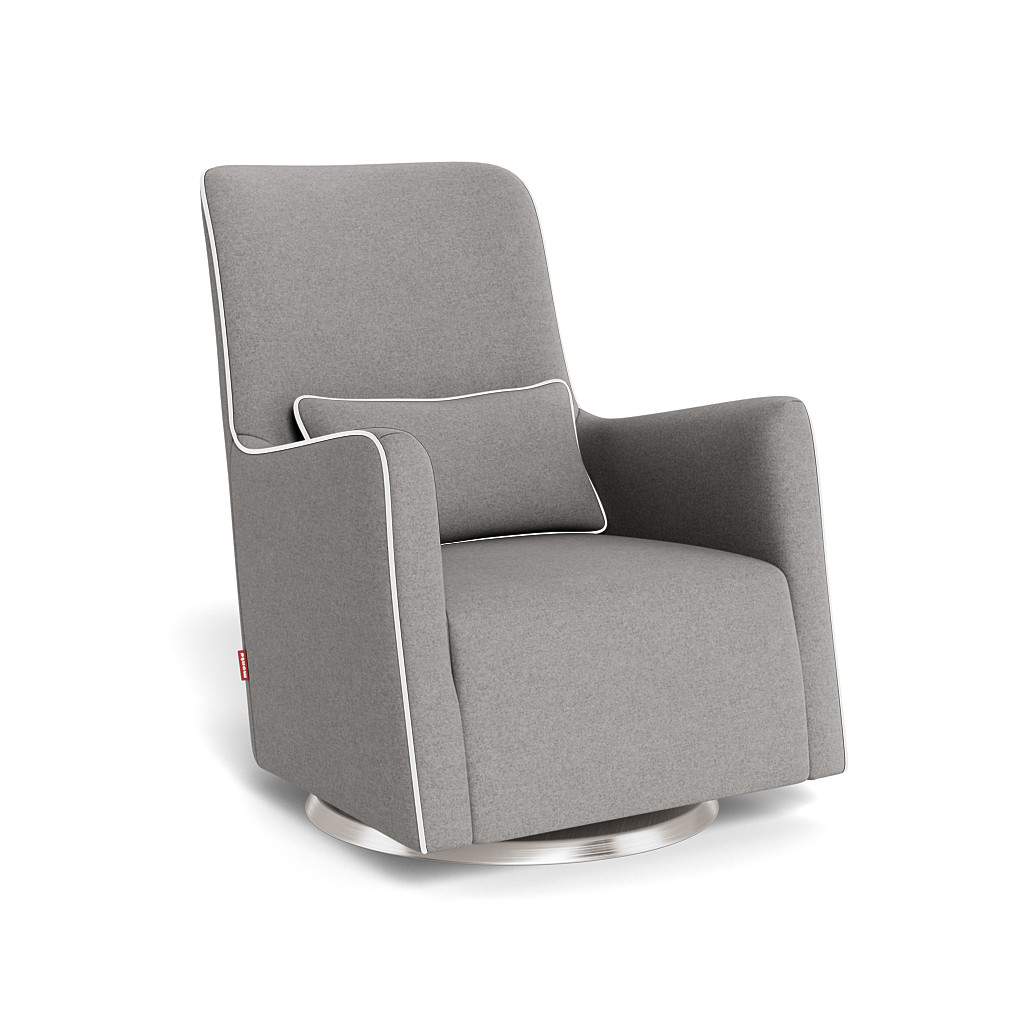 Grazia swivel glider modern nursery chair